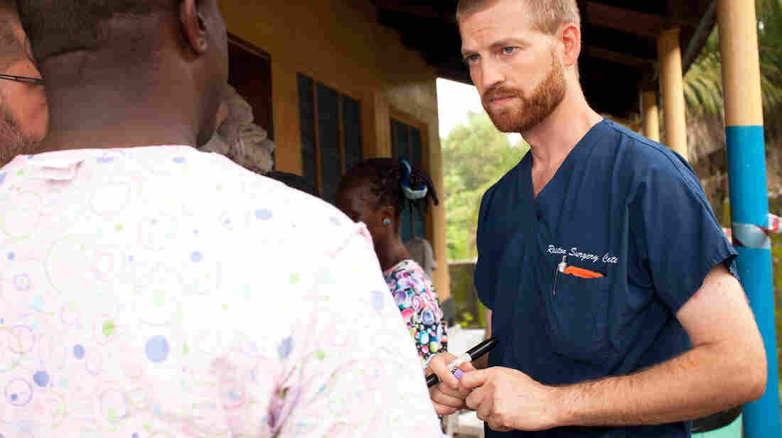 Dr. Kent Brantly, of Fort Worth, Texas, was treating Ebola patients in Monrovia, Liberia, when he himself became infected with the virus.