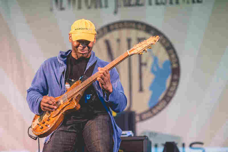 Kevin Eubanks, late of The Tonight Show, filled an important role in bassist Dave Holland's electrified quartet Prism.