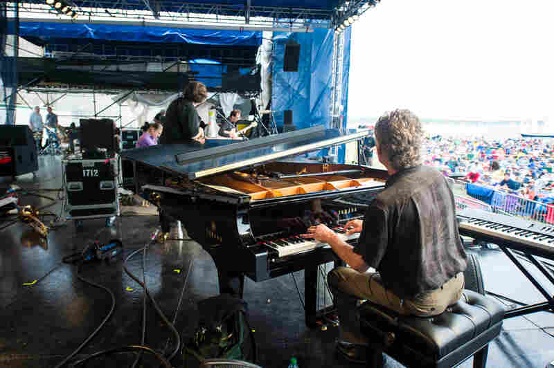 The Brubeck Brothers band honored their late father Dave Brubeck, a frequent Newport Jazz Festival attraction, with original arrangements of tunes that he made famous.