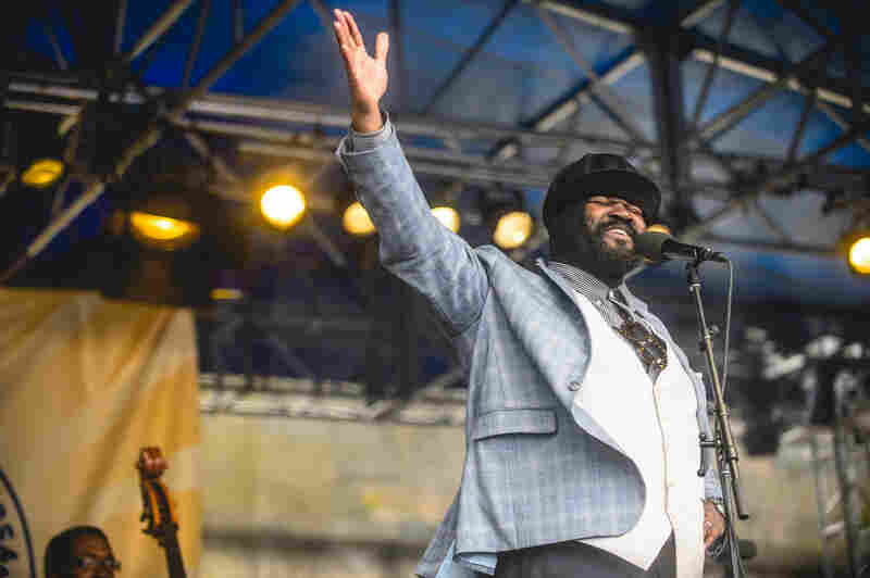 Gregory Porter sang hits from throughout his catalog.