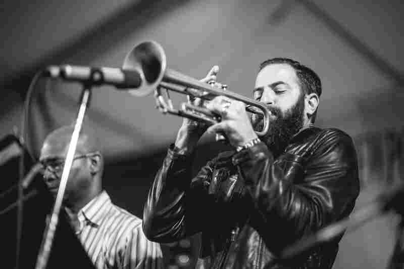 Trumpeter Avishai Cohen was on the frontline of the SFJAZZ Collective.