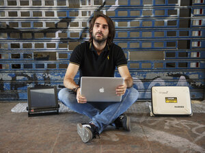 Cybersecurity researcher Ruben Santamarta says he has figured out how to hack the satellite communications equipment on passenger jets through their Wi-Fi and in-flight entertainment systems.