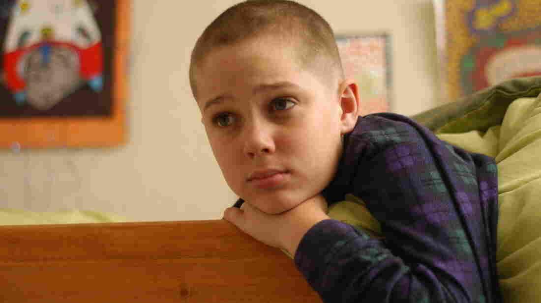 Mason (Ellar Coltrane) grows up over the running time of Richard Linklater's Boyhood.