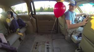 A baffling balloon behavior.