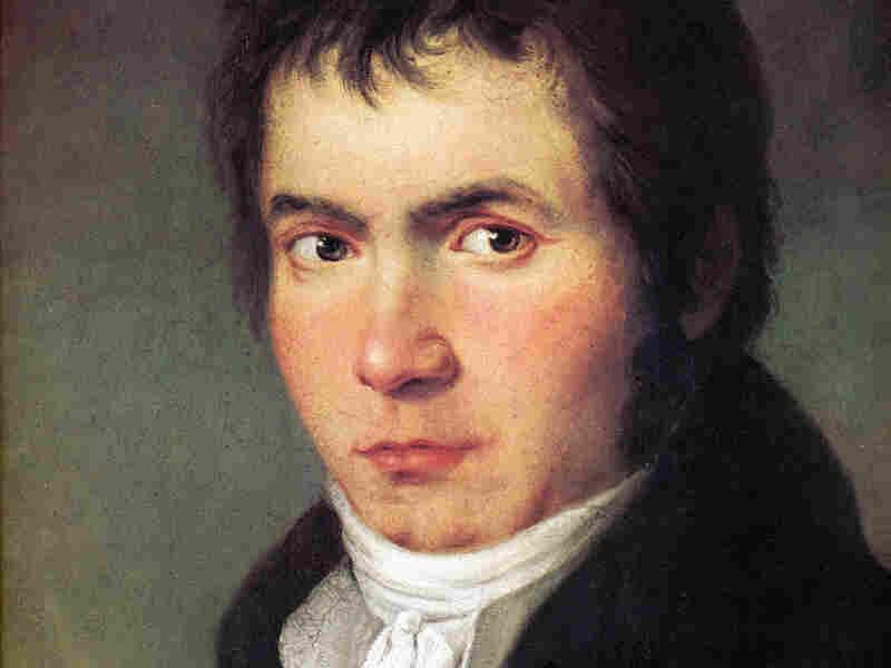 Ludwig van Beethoven, ca. 1804.