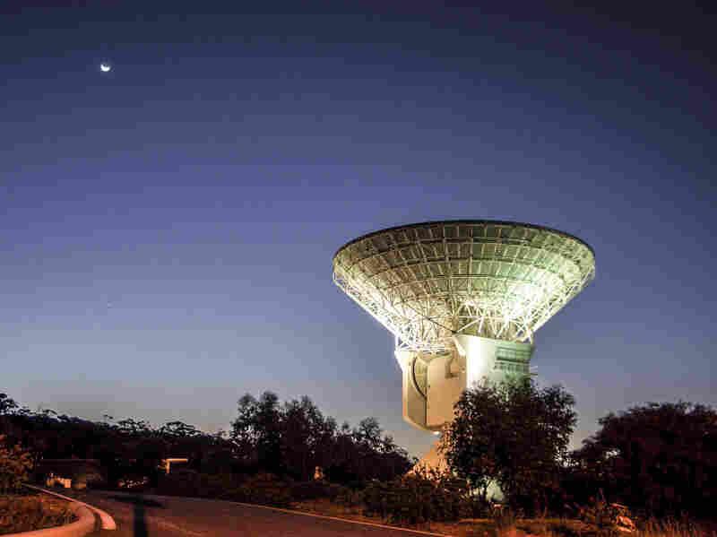 A deep space antenna near Perth, Australia is tracking the Rosetta Spacecraft's approach to the comet 67P/Churyumov-Gerasimenko.