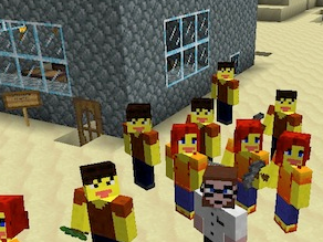 Minecraft has become a classroom favorite, allowing students to create and explore.