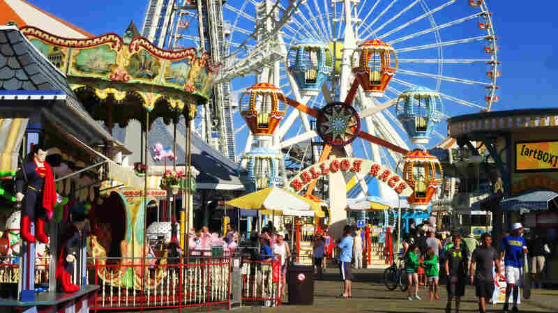 Wildwood, N.J., can be a playground for adults.
