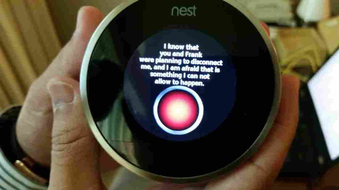 After Grant Hernandez, an undergraduate security researcher at the University of Central Florida, hacked Nest, he programmed it to riff off a favorite line from the movie 2001: A Space Odyssey.