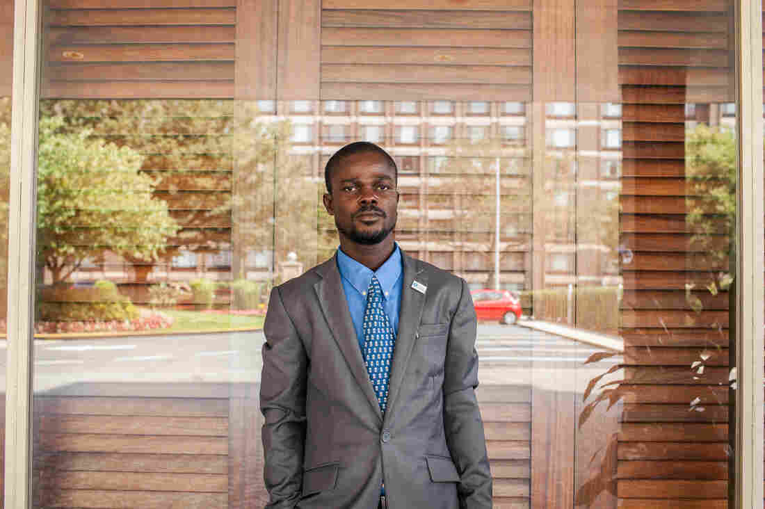 Matthew Fred wants Liberia's 16 tribes to all get along.