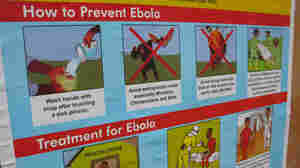 Graphic Warnings: Ebola Posters Keep The Virus On People's Minds