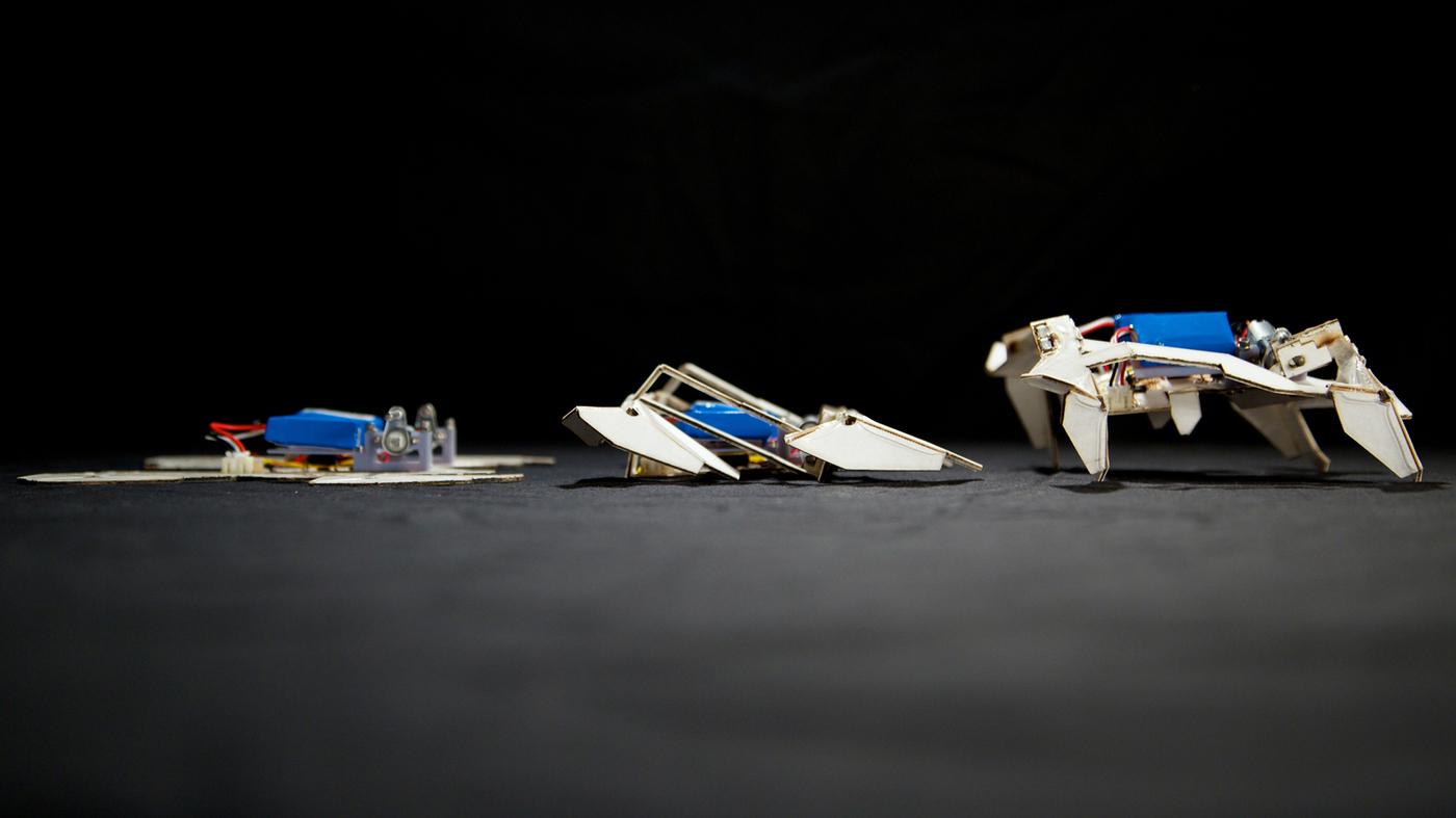 Transformer paper turns itself into a robot cool npr jeuxipadfo Images