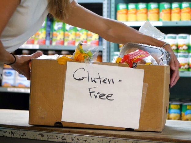 Gluten free food banks bridge celiac disease and hunger for Plymouth food pantry ct