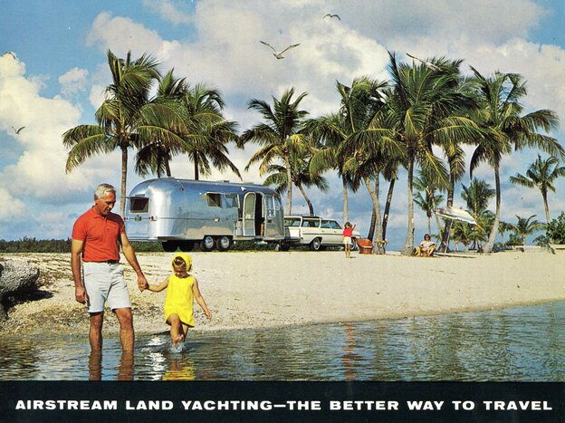 Airstream travel trailers bring to