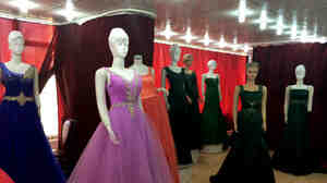 At the Romez Store in Kabul, brides-to-be can place custom orders for dresses costing upwards of $900, which is three times the average monthly wage in Afghanistan.