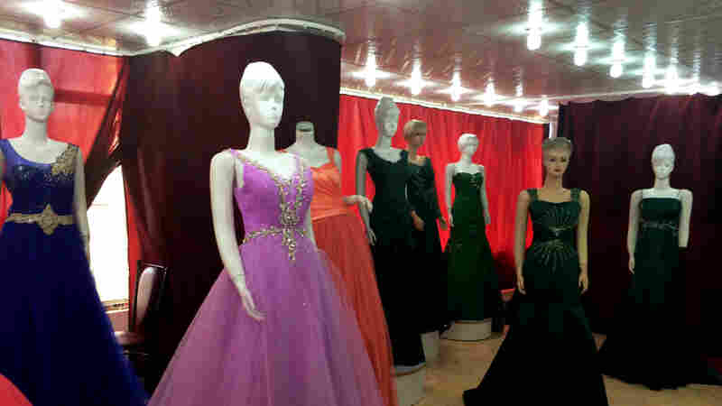 Afghan Brides Dress To Impress, Fueling An Unlikely Business Boom