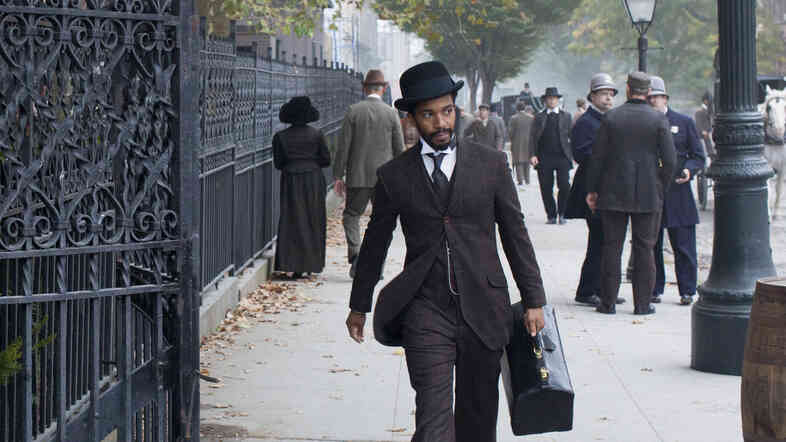 Andre Holland stars in The Knick on Cinemax.