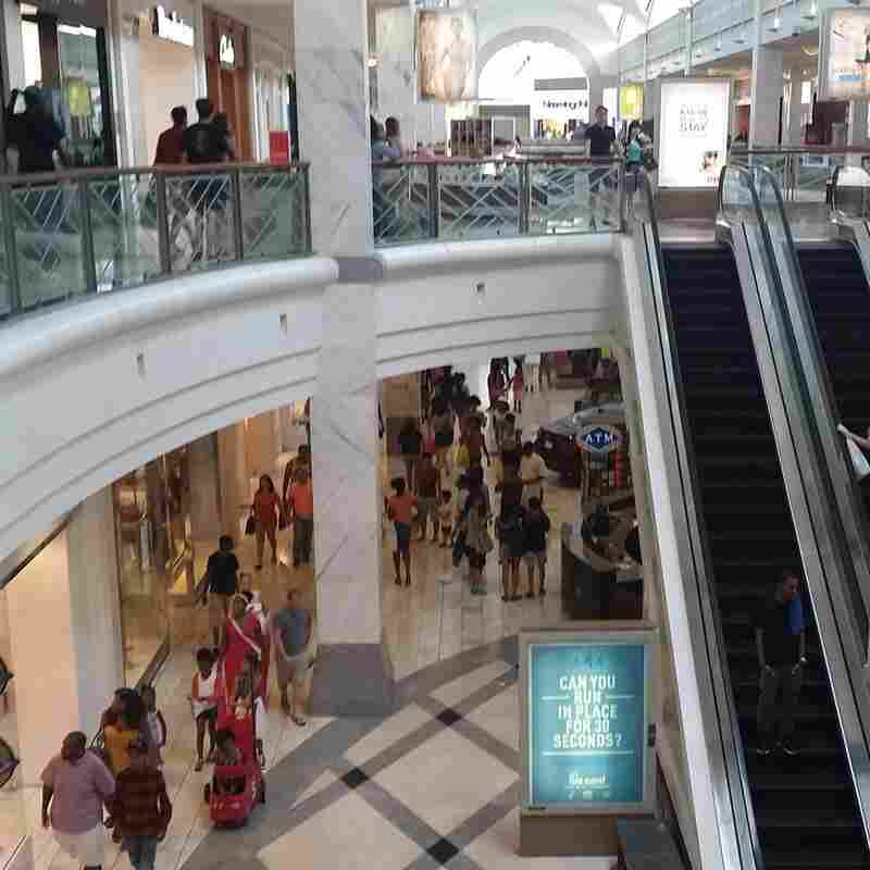 Lenox Mall, in the Buckhead neighborhood of Atlanta, used to be the site of a country home estate and is now a traditional indoor mall with two anchor stores.