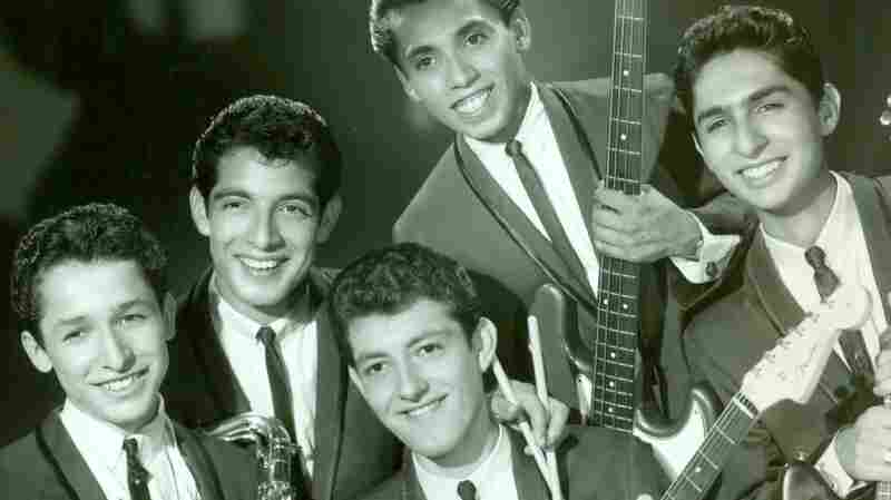 The Premiers in 1964. From left: Tony Duran, John Perez, Lawrence Perez, Frank Zuniga and George Delgado.