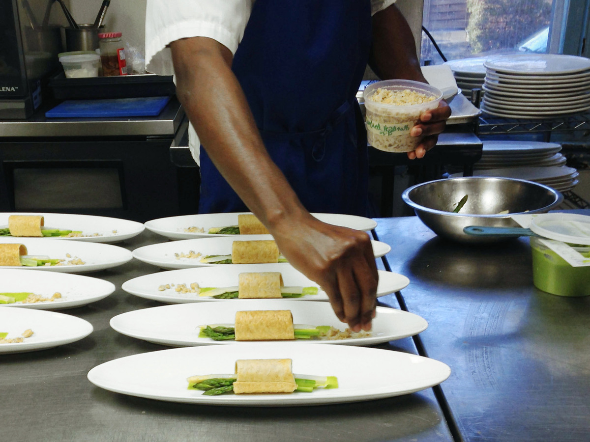 For a more ordered life organize like a chef the salt npr for Kitchen set up for restaurant