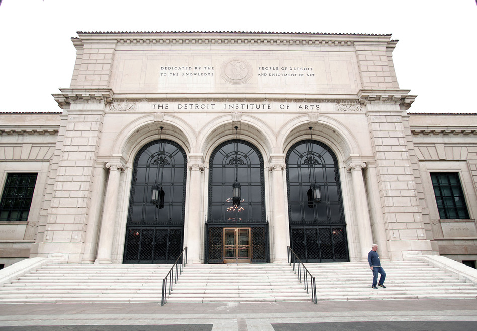 Deaccessioning — the permanent removal of an object from a museum's collection — has been a big issue in Detroit. When the city declared bankruptcy, it had to put all of its assets on the table. Turns out, the most valuable asset was the art collection at the Detroit Institute of Arts. (Bill Pugliano/Getty Images)
