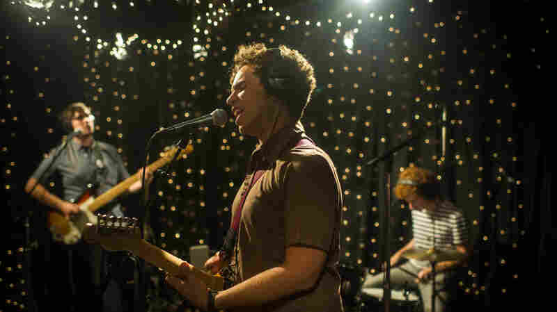 Parquet Courts performed live at KEXP's studios in Seattle.