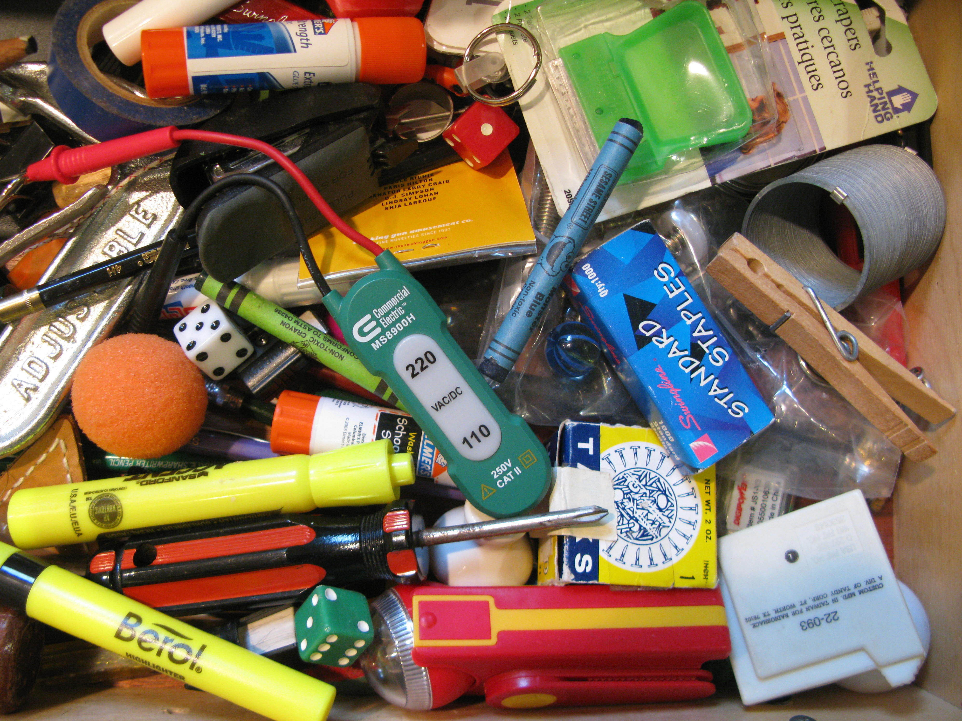 What Your Junk Drawer Reveals About You