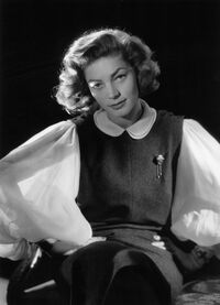 Lauren Bacall in 1951. She had a rich movie and stage career and won Tony awards for Applause and Woman of the Year.