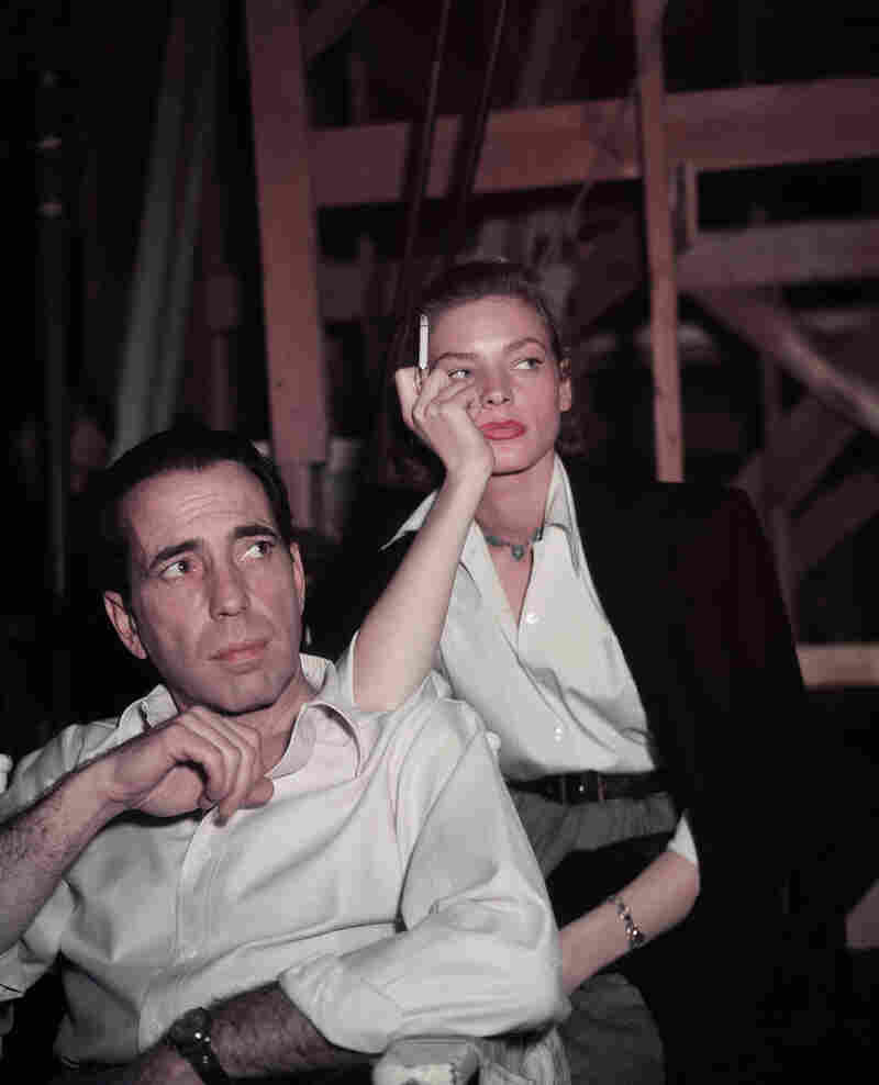 Bogart and Bacall in an undated photo. They were the epitome of cool.