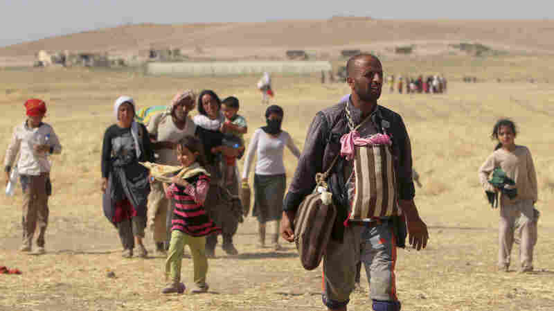 Displaced people from the minorit