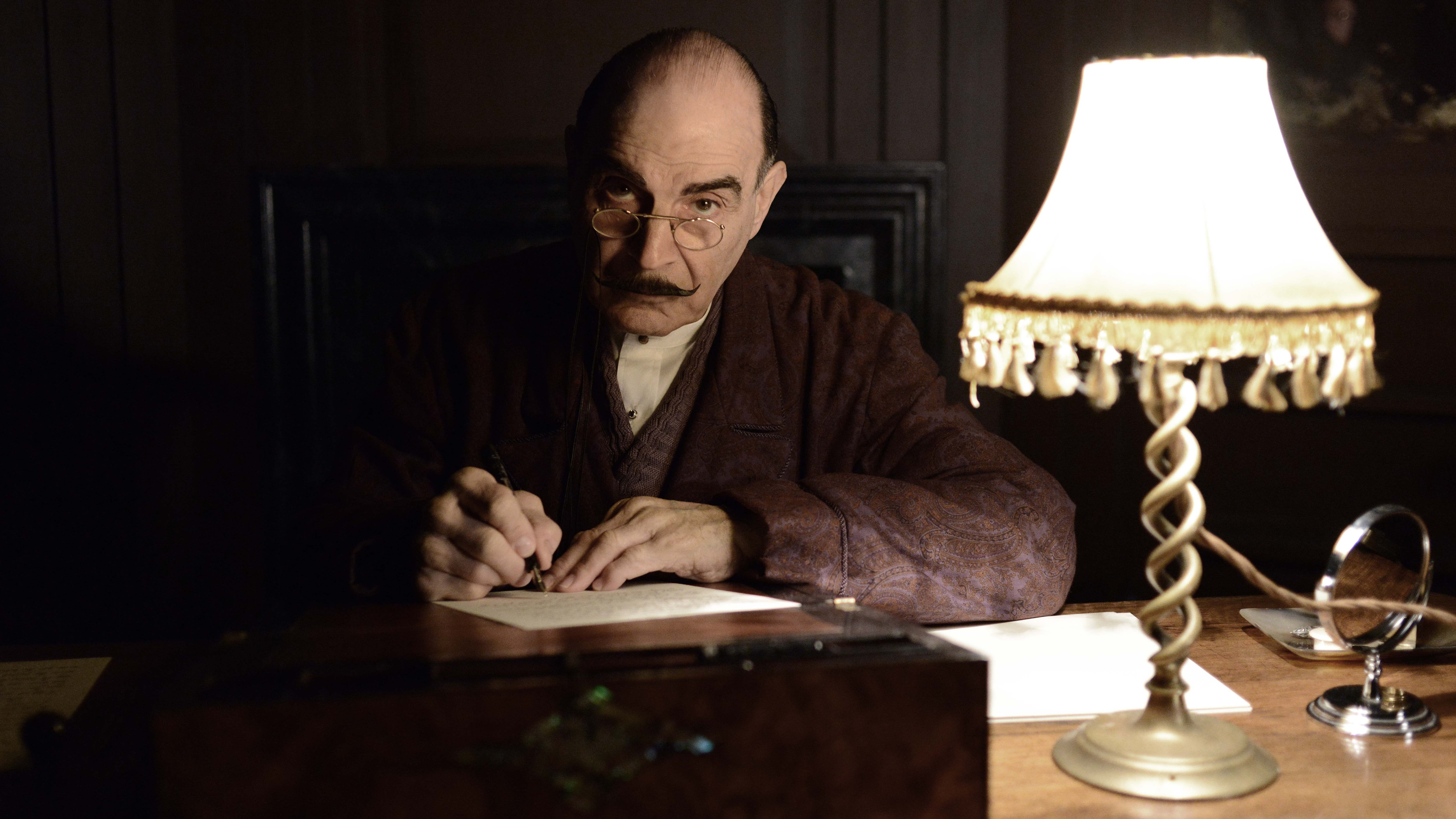 Case Closed: Agatha Christie's Detective Poirot Solves His Last TV Mystery