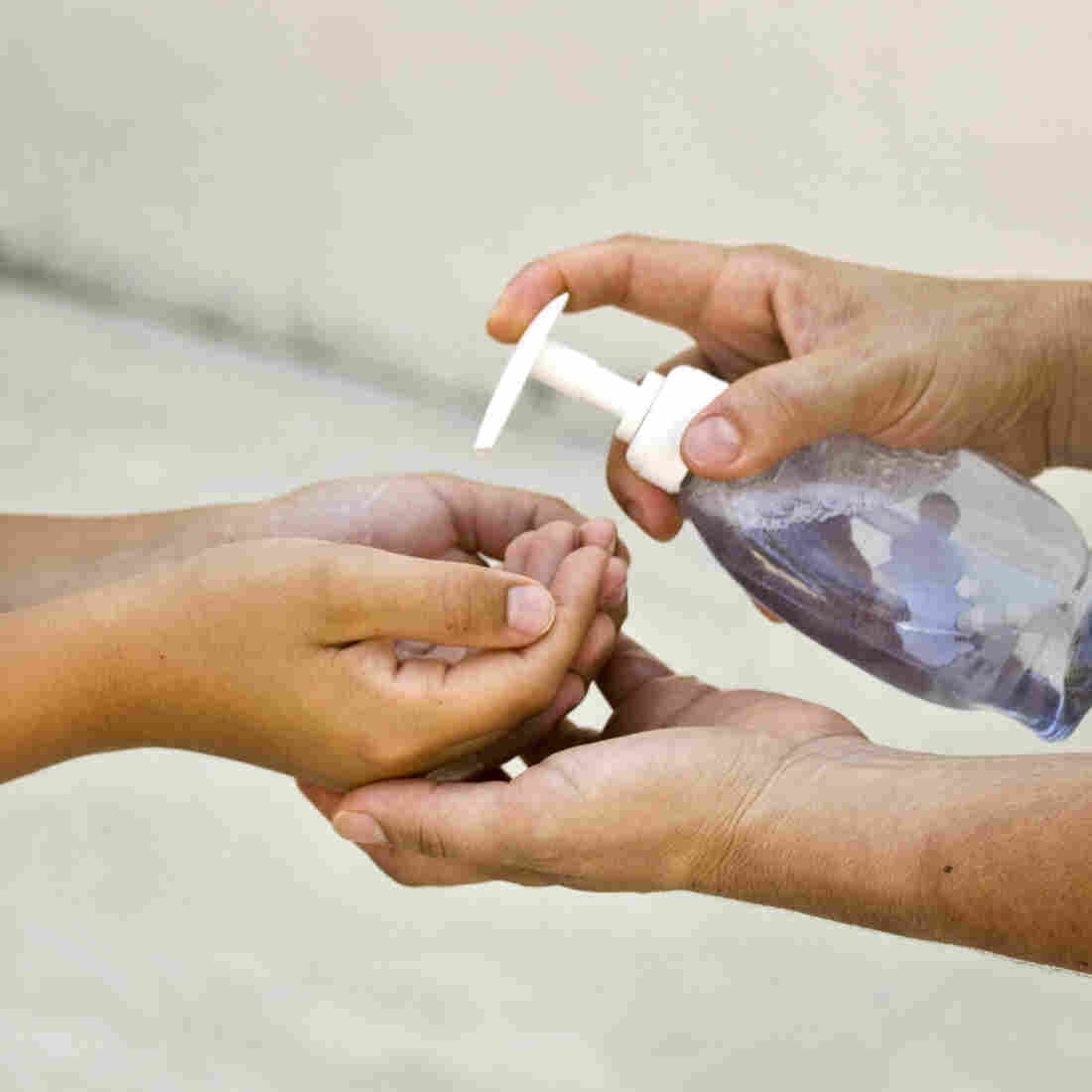 Schoolchildren Who Add Hand Sanitizer To Washing Still Get Sick