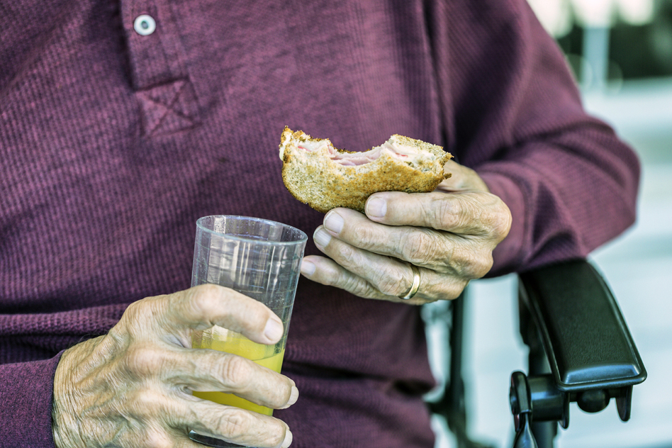 Malnourished seniors may be forgotten until they show up in the emergency room, often for another reason like an injury. (Ted Gough/Willowpix/iStockphoto)