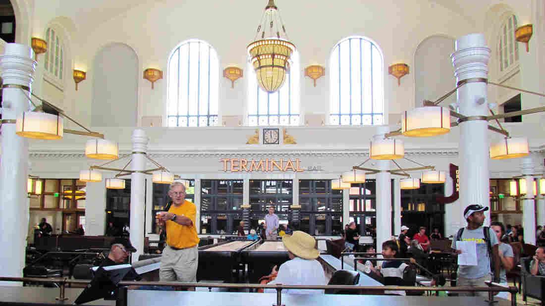 Denver's revitalized Union Station.