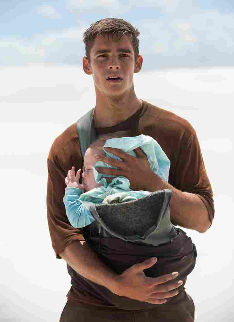Jonas, played by Brenton Thwaites, is assigned to learn the painful history of humanity in Lowis Lowry's The Giver.