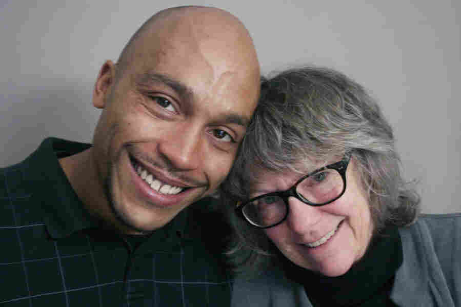 Alex Landau and his mother, Patsy Hathaway, on a visit to StoryCorps.