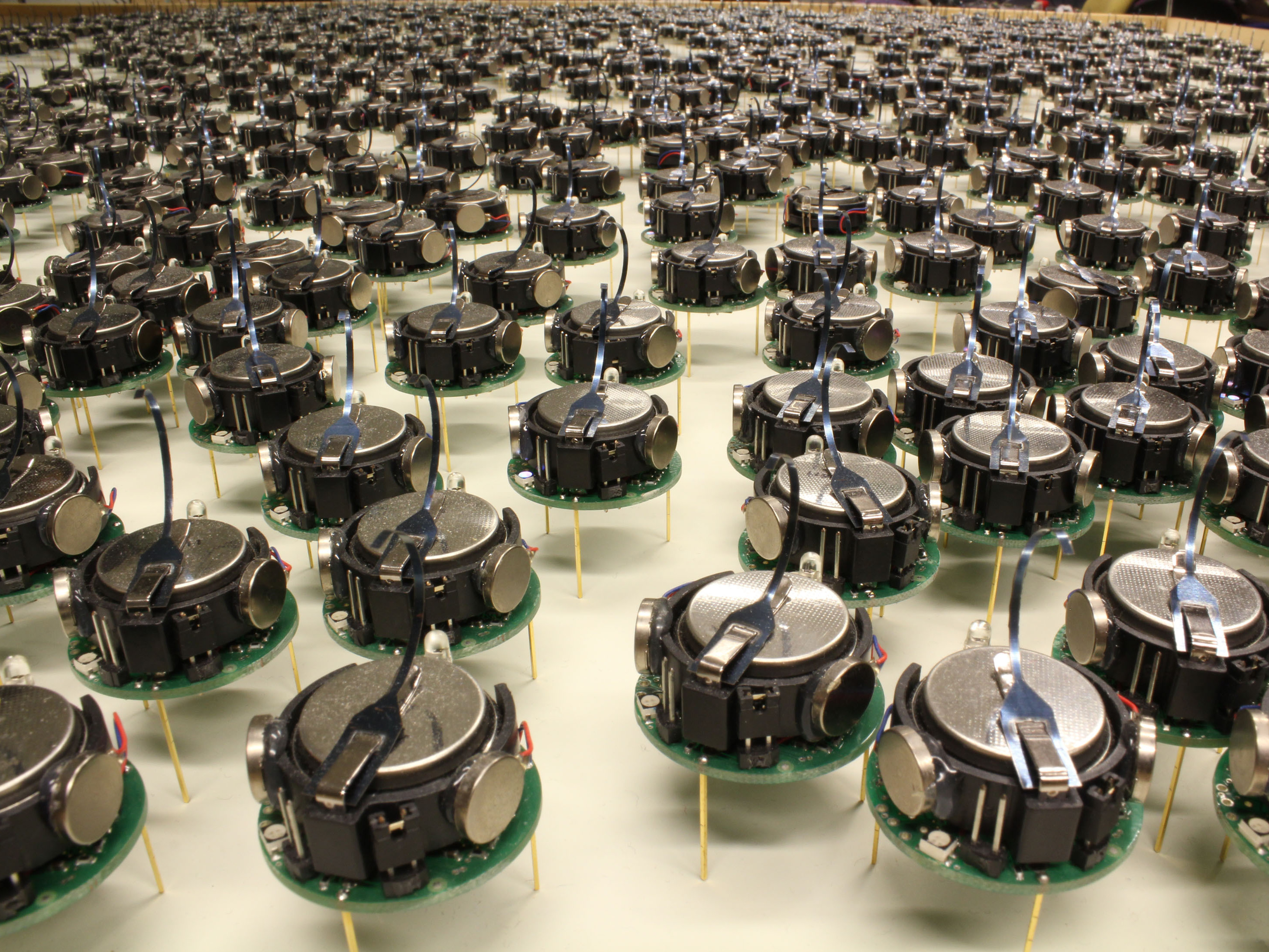 Do Not Fear This Giant Robot Swarm