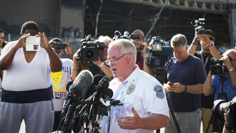 Ferguson officials release officer's name