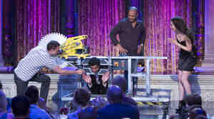 Syfy's Wizard Wars is a reality series featuring a new team of magicians each week, who are challenged to transform random props into magical illusions.