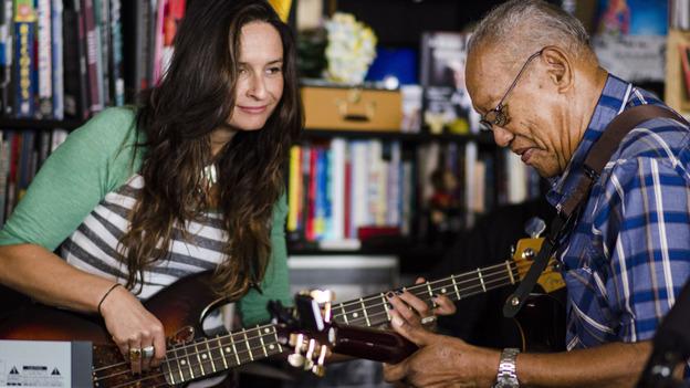 Tiny Desk Concert with Ernest Ranglin on June 25, 2014. (NPR)