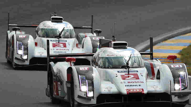 Leena Gade is the race engineer on the No. 2 Audi R18 e-tron quattro race car. Gade's team drove to victory during this year's 24-hour Le Mans in western France.