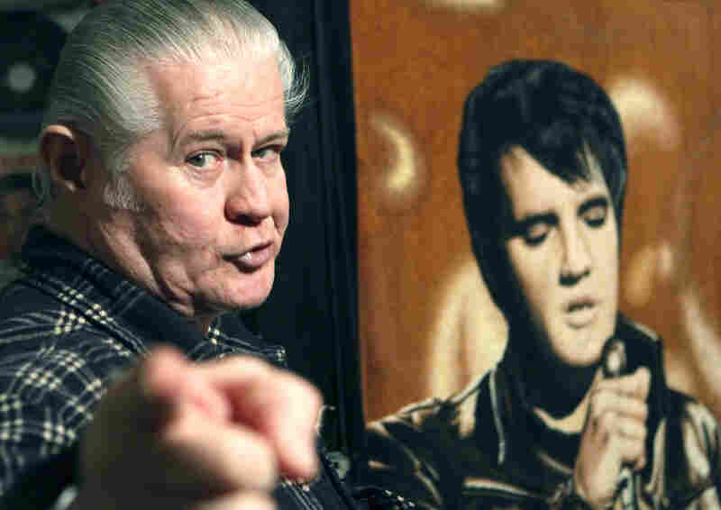 """Paul MacLeod, shown in 2009, was such an Elvis fan he even named his son after """"the king."""""""