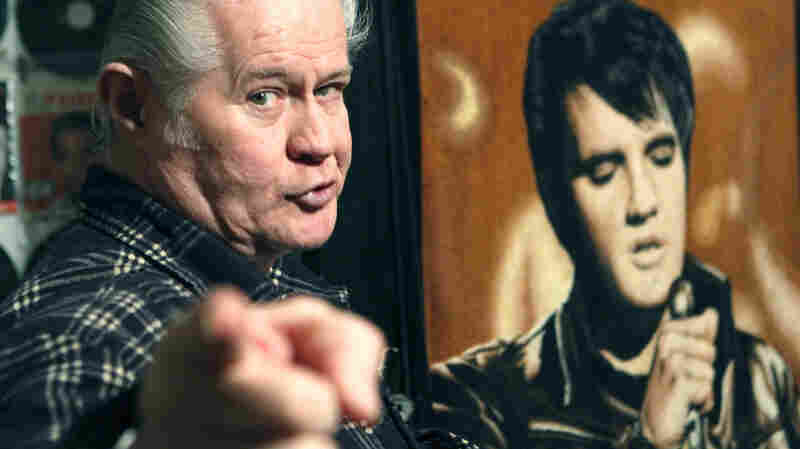 "Paul MacLeod, shown in 2009, was such an Elvis fan he even named his son after ""the king."""