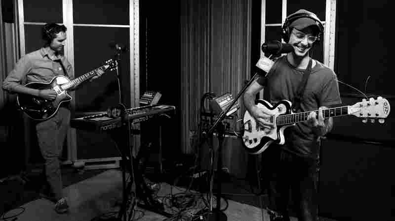 Clap Your Hands Say Yeah performs live for Morning Becomes Eclectic.