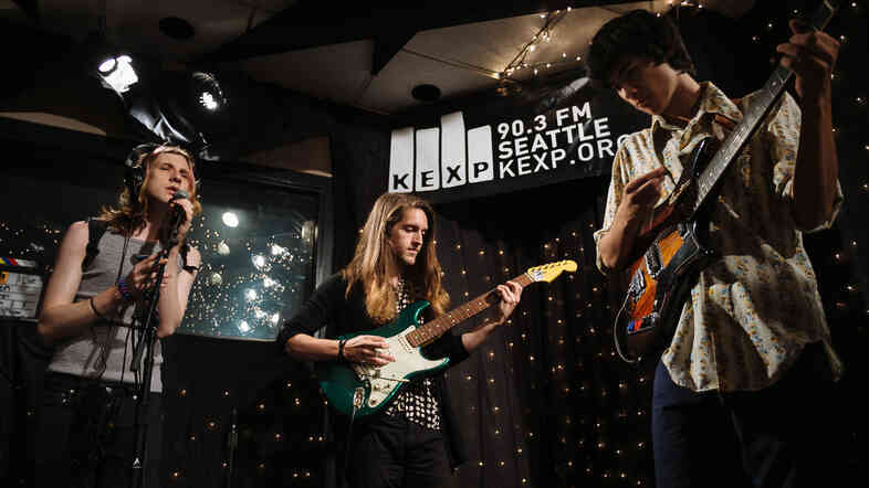Foxygen perform live at KEXP in Seattle.