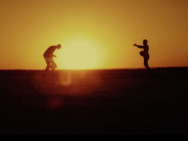 """A still from the video for """"Am I Wrong"""" by Nico & Vinz."""