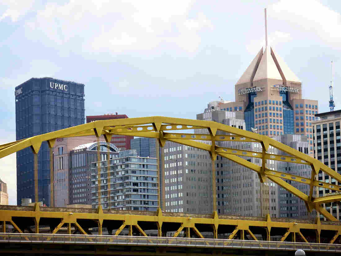 The headquarters for University of Pittsburgh Medical Center and Highmark Blue Cross/Blue Shield dominate the Pittsburgh skyline much as they organizations have dominated health care in the region for decades.
