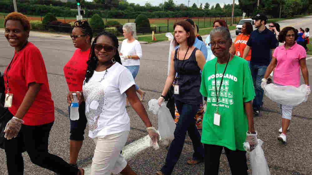 Ferguson Teachers Use Day Off As Opportunity For A Civics Lesson