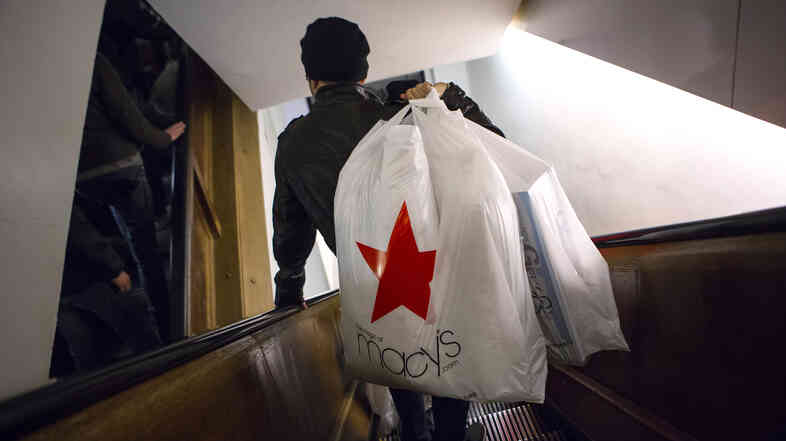 Customers at Macy's flagship store in New York City say they were discriminated against. Macy's has agreed to a settlement.