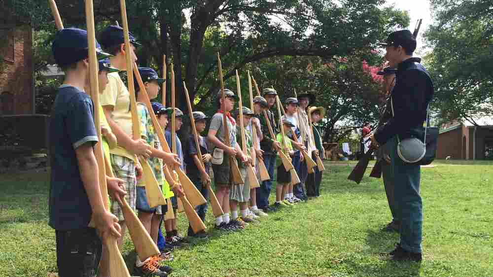 Picking Sides At Day Camp: Confederacy Or Union?